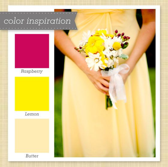 Berry And Lemon Yellow Color Palette Perfect Palettes
