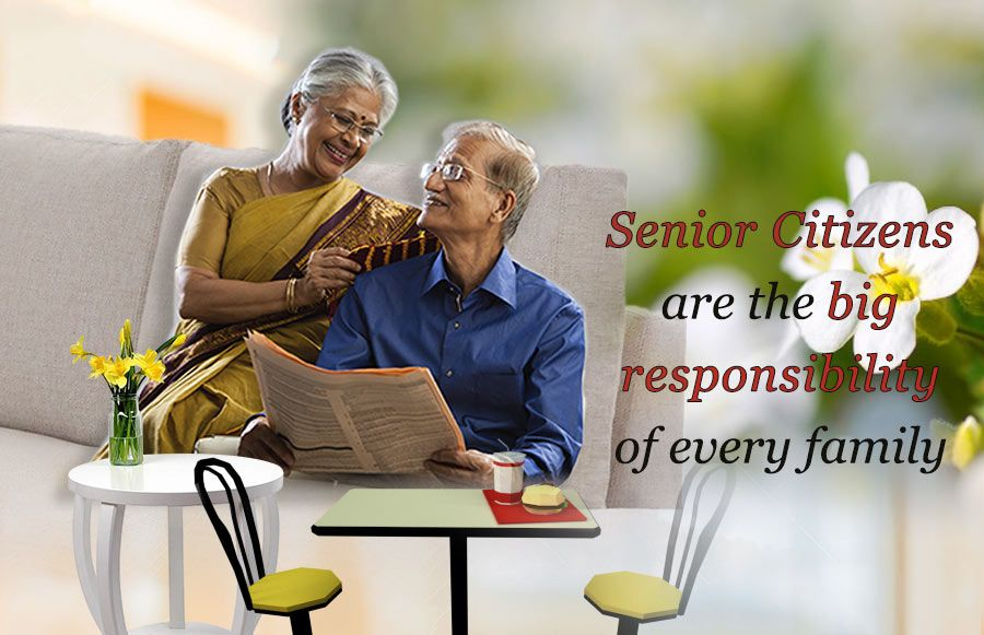 Senior Citizens Are The Big Responsibility Of Every Family Who