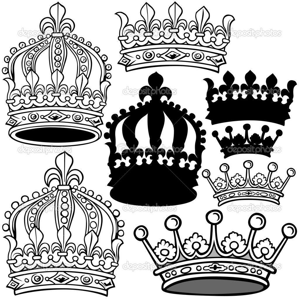 Crown Heraldry Royal Crown — Stock Vector © Roman Dekan