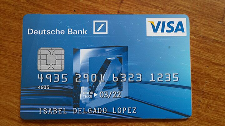 DEUTSCHE BANK CC BACK AND FRONT PSD FULLY EDITABLE contact
