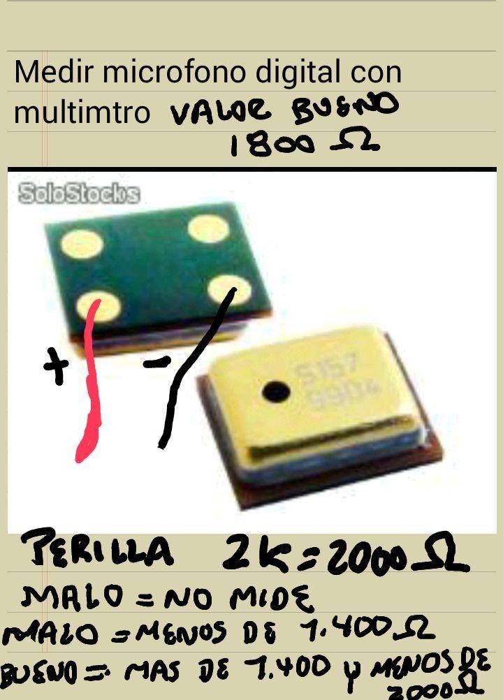 Pin De Dcd En Impedancias Microfonos Tecnologia Celular Componentes Electronicos