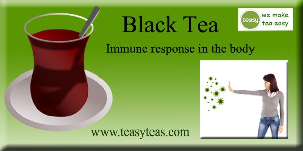 Black tea contains tannins chemicals which have been ...