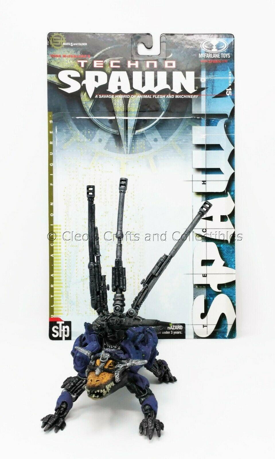 Steel Trap Techno Spawn Series 15 Mcfarlane Toys Mcfarlane Toys Superhero Toys Spawn