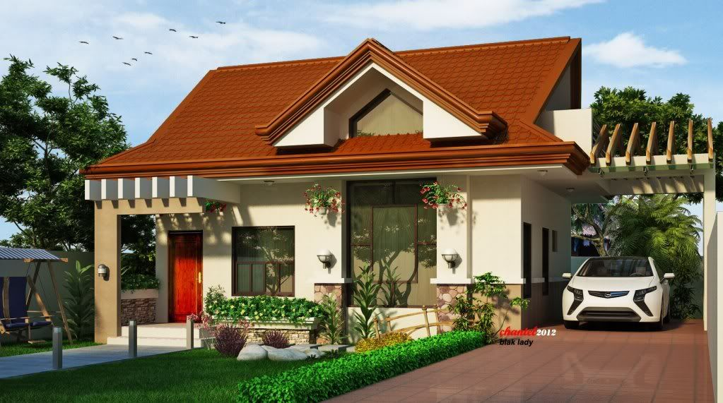 Simple House Design With Attic In The Philippines & Simple House Design With Attic In The Philippines | hiqra ...