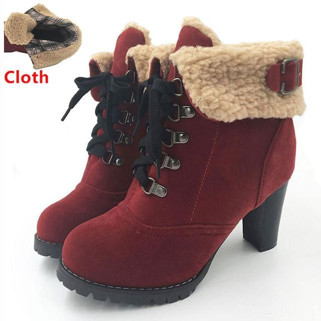 332df606ee2 MAISIE CLOTH | Shoes! | Boots, Shoes, High heels