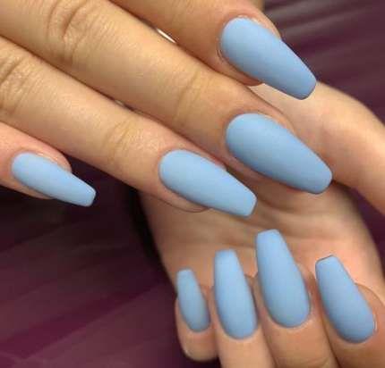 63 ideas for nails blue bright  blue matte nails pastel
