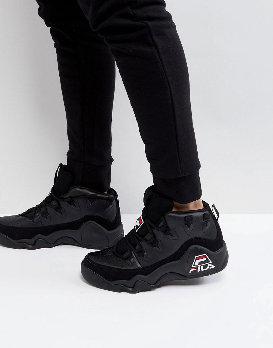 Vintage Mid Asos 95 fila Black Fila Sneakers qPnB7z5w
