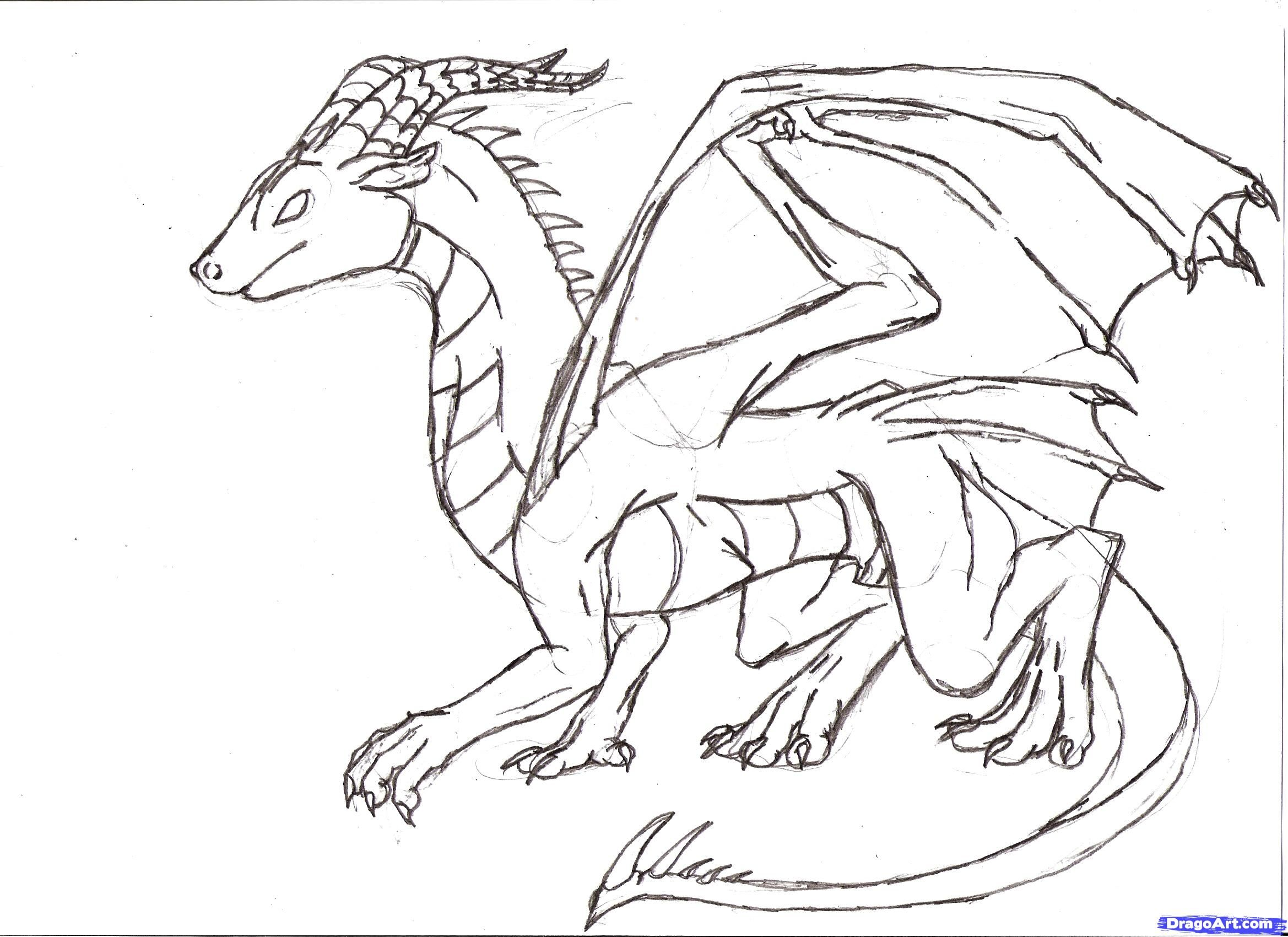 Onlinedrawinglessons ( Discover How To Draw Dragons Step