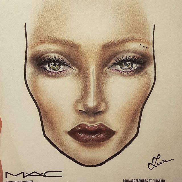 Hervorragend macfacechart mac facechart makeup on Instagram | Eye Makeup  RB46