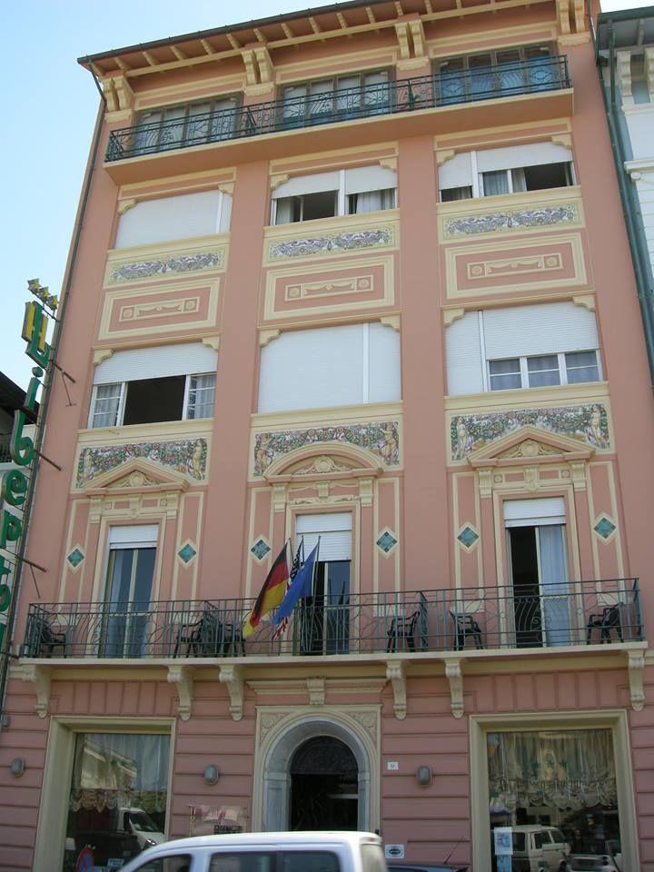 Hotel Liberty 1924 Progetto Di Ing Arch Alfredo Belluomini E
