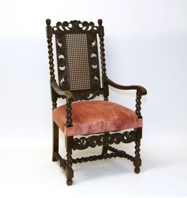 William And Mary Style Chair
