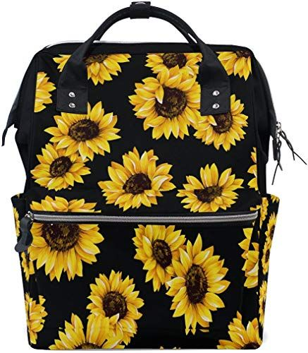 Amazing Offer On Wozo Watercolor Sunflower Floral Flower Black