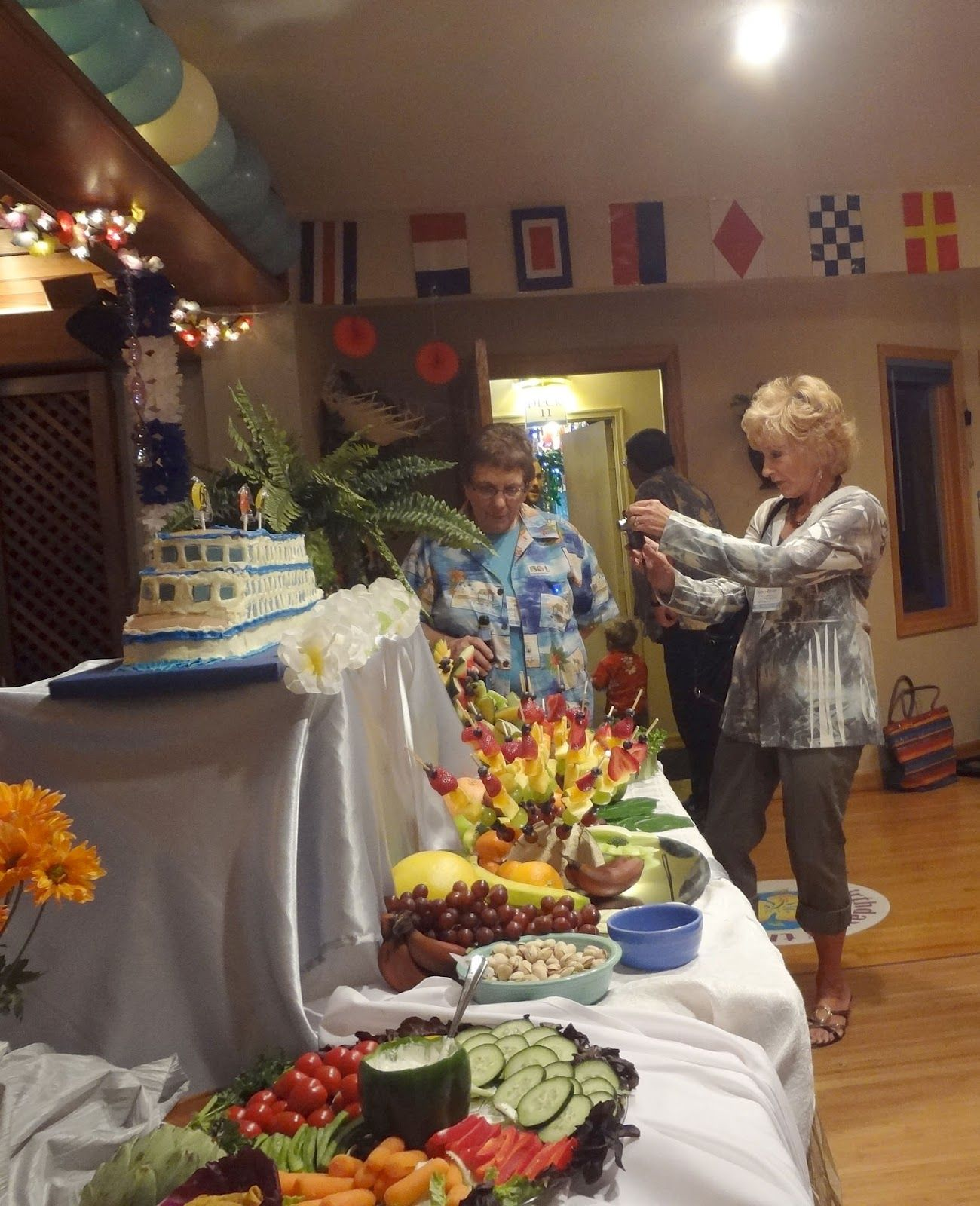 Cruise Themed Birthday Party