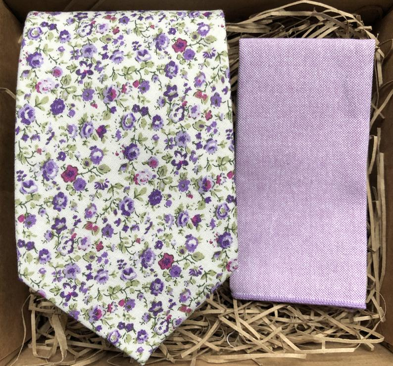 White Lavender 8cm Wide Floral Tie Lavender Floral Necktie Etsy In 2020 Lavender Tie Floral Floral Tie