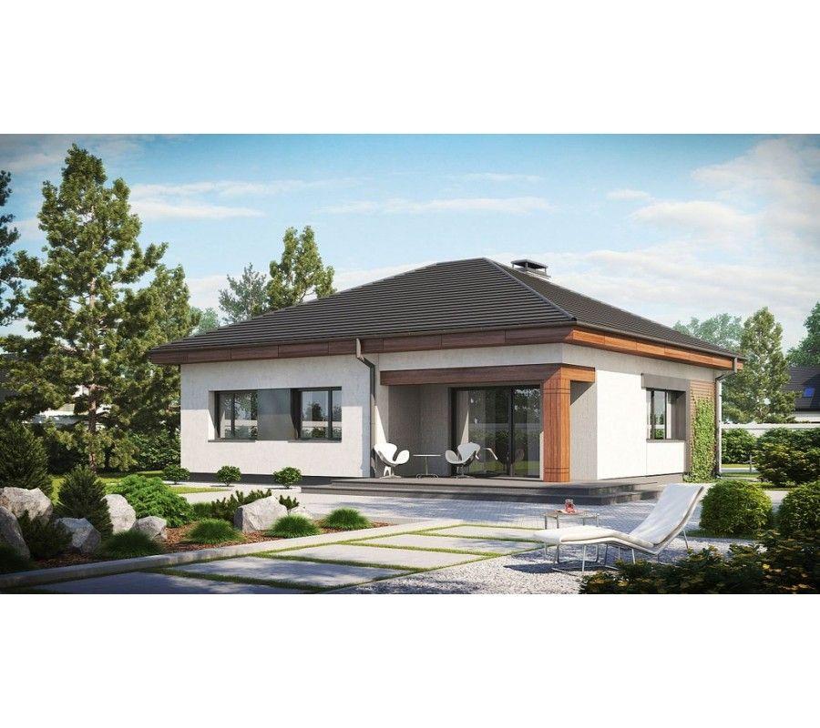Proiect casa parter p ieftina 130 mp pret la rosu for Case din lemn pret 5000 euro