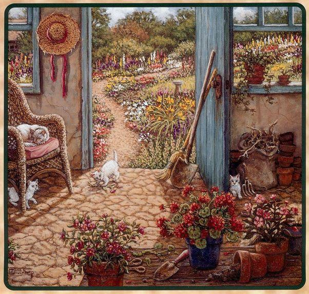 Уютный мир Janet Kruskamp
