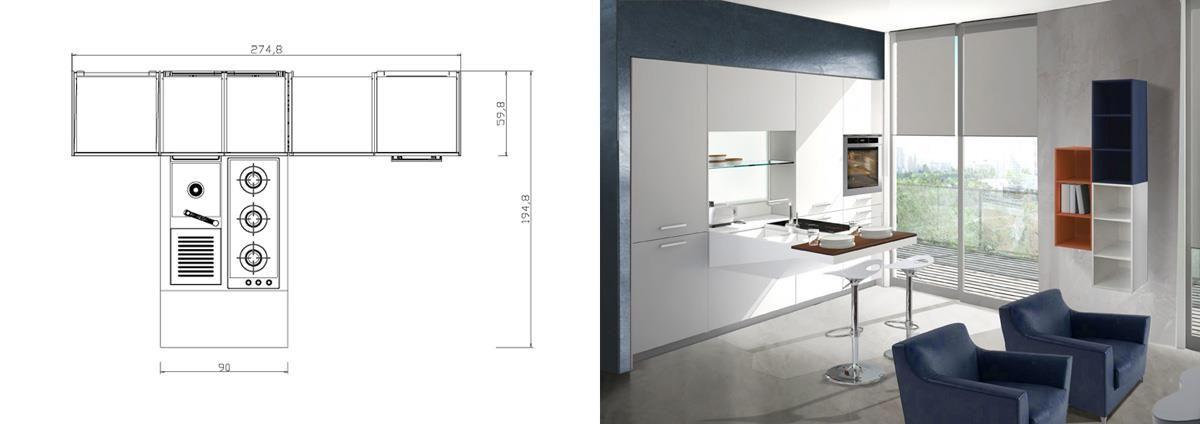 Rudy`s blog over Italiaanse Design Keukens e.d.: Italiaans design op de vierkante centimeter...