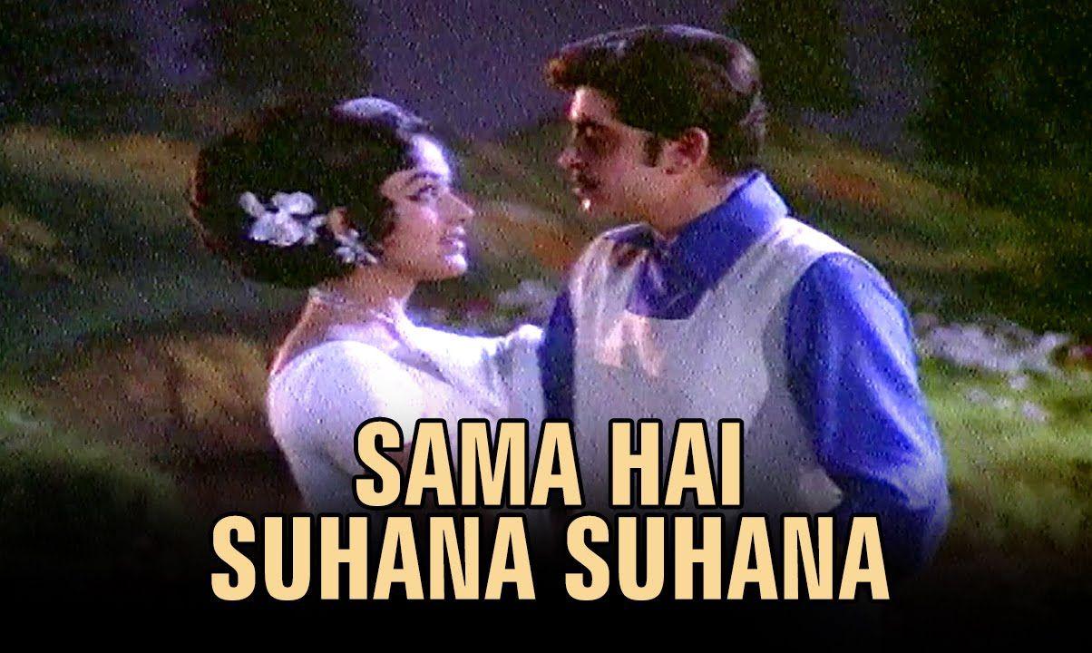 Sama Hai Suhana Suhana (Video Song) - Ghar Ghar Ki Kahani - YouTube