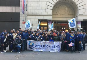 Ucla Operation Mend S Wounded Warriors March In New York City Veterans Day Parade Ucla Health Ucla Wounded Warrior