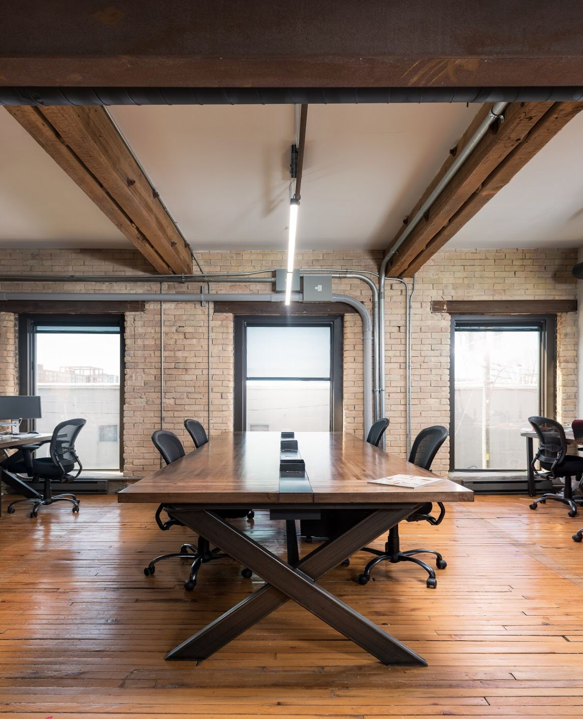 Interior Design Office Montreal: Commercial Desgin // Workspace Design // Vice Headquarters