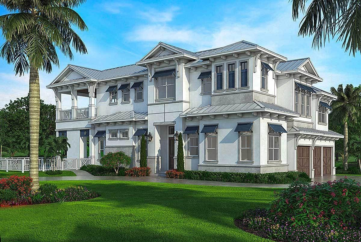 Upscale Southern House Plan 76019GW