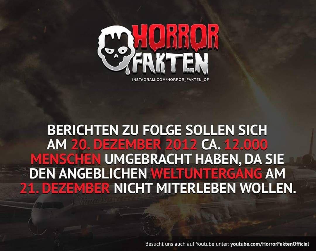 Horror Horrorfakten Fakten Fakten Horror Und Witzige Spruche