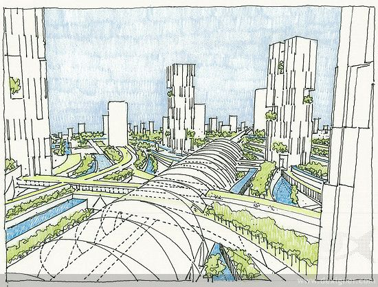Langfang Eco Smart City Master Plan 01