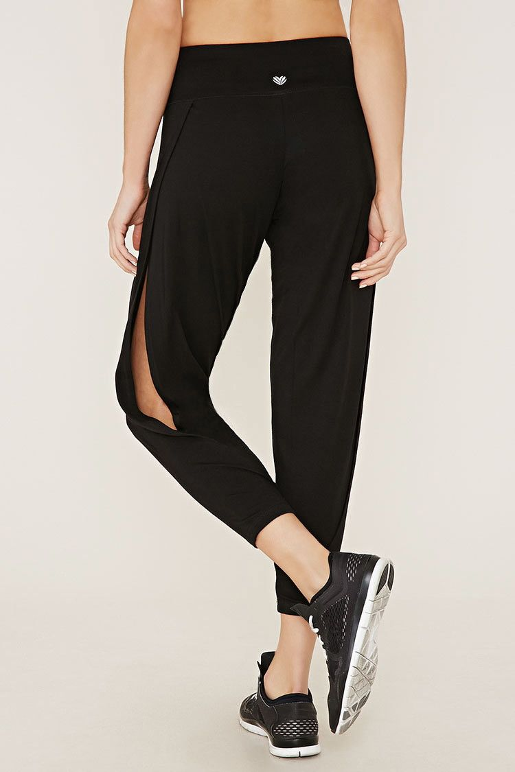 Women Activewear High-waist Stretch Yoga Pocket Pants Dance Practice Clothes by Fenta