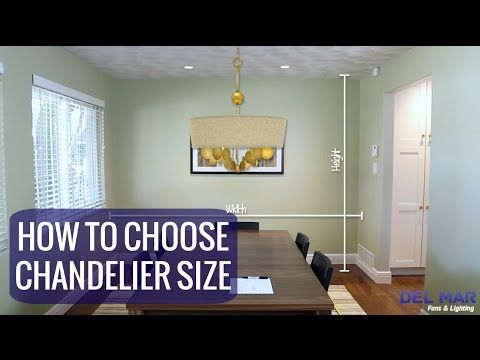 How To Size A Dining Room Chandelier 3 Easy Steps  Chandeliers Best Size Of A Dining Room Decorating Inspiration