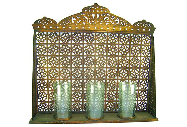 With Its Elaborate Moorish Motif And Gold Finish, This Screen Will Make  Your Fireplace A Focal Point Even When Itu0027s Not In Use. Amazing Pictures