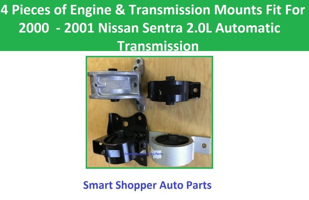 Details about 4 PCS MOTOR & TRANS MOUNT FOR 20002001