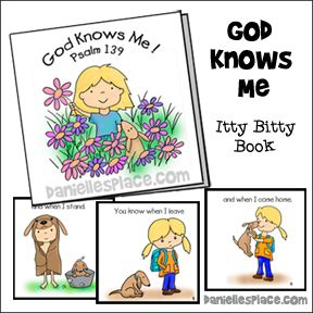 Free Bible Lessons for Sunday School - Psalm 139 | Children