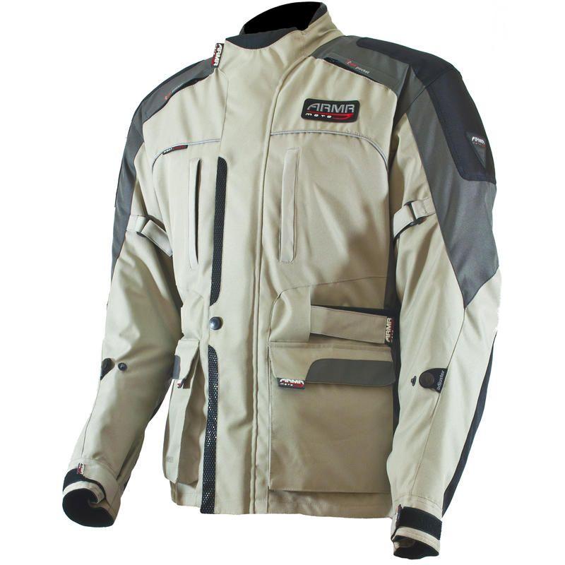 Grey Black Spada Ladies Planet Waterproof Textile Jacket