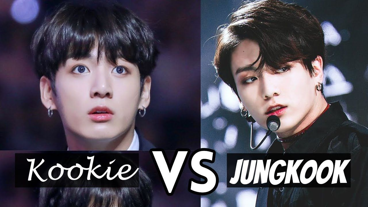 Bts Kookie Vs Jungkook Two Sides Of Jeon Jungkook Youtube Jeon Jungkook Jungkook Bts Fans
