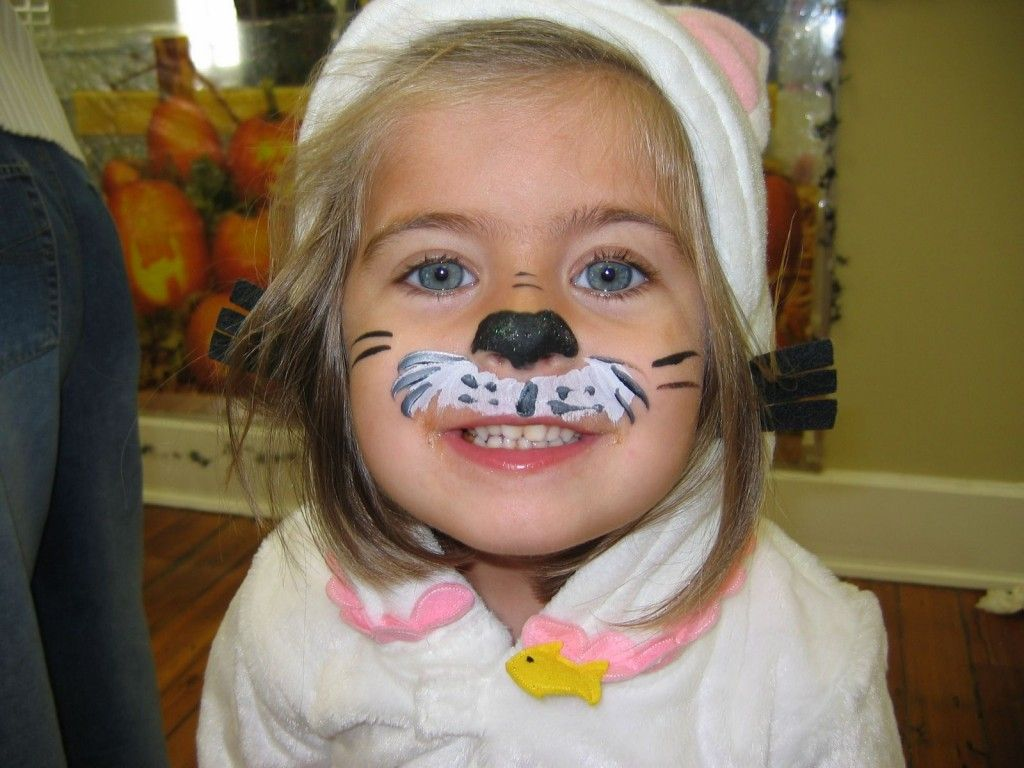 Easy Face Painting Ideas Face Paintings Face Painting Easy Face Painting Kitty Face Paint