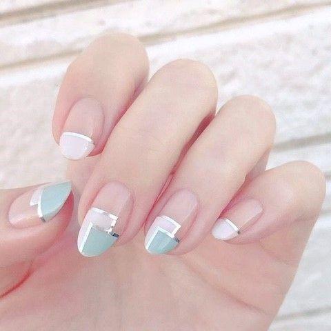 • Nail Design 프렌치네일 다양한디자인 모음 : 네이버 블로그 #koreannailart
