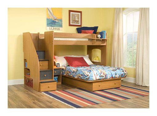 Best Berg Furniture Utica Twin Over Full Loft Bed 23 815 400 x 300