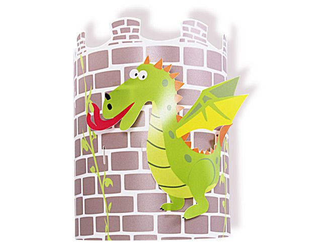 applique murale enfant dragon ou dinosaure pour chambre. Black Bedroom Furniture Sets. Home Design Ideas