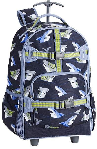 0768d98d0675 Pottery Barn Kids Mackenzie Navy Blue Tropical Sharks Lunch Collection