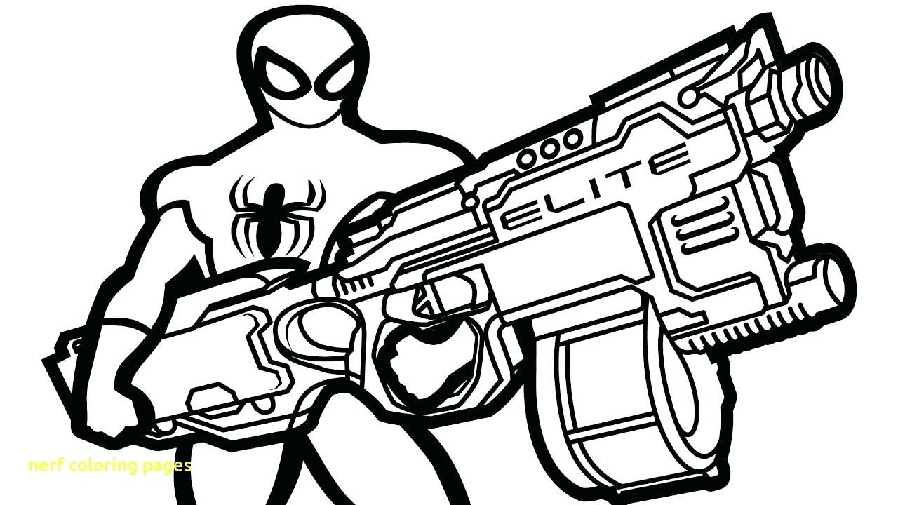 Nerf Coloring Pages Printables Http Www