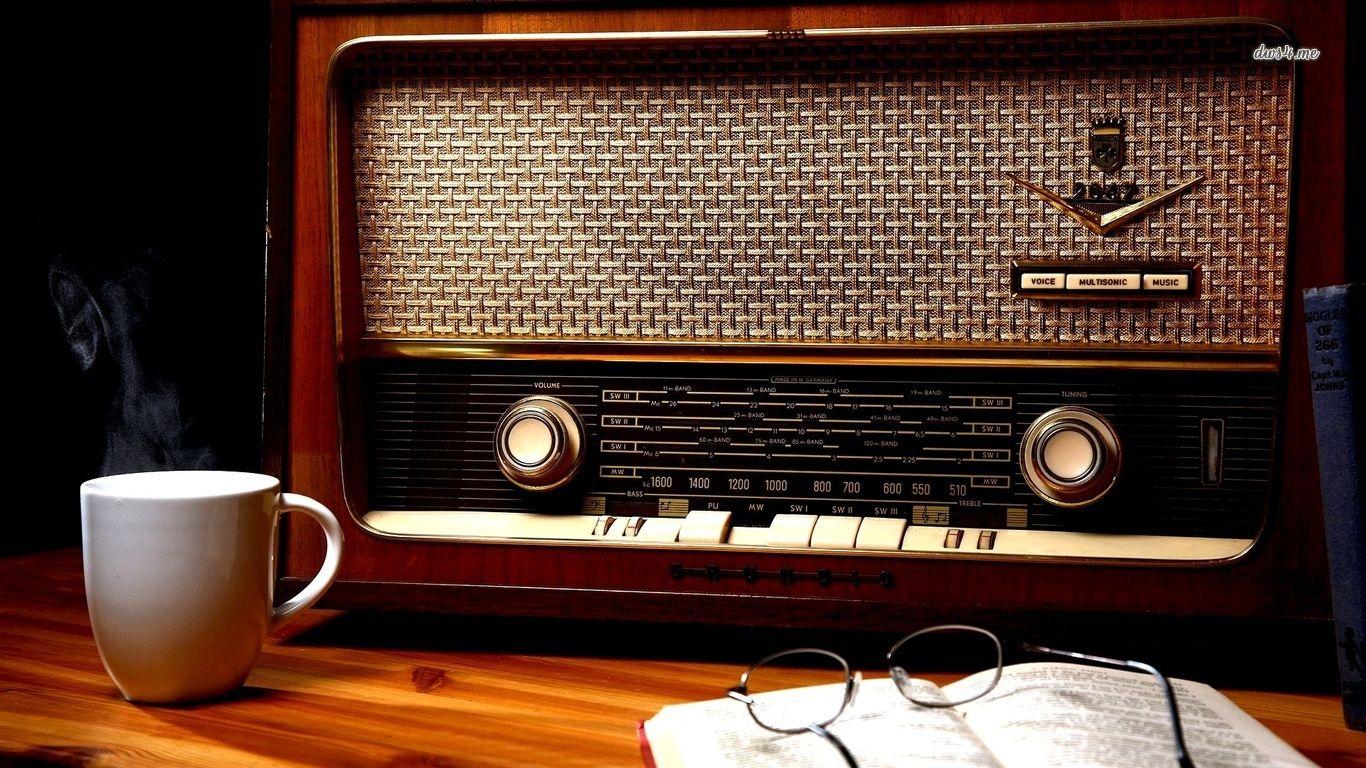 Vintage Radio Hd Wallpaper Old Radios Vintage Radio Antique Radio