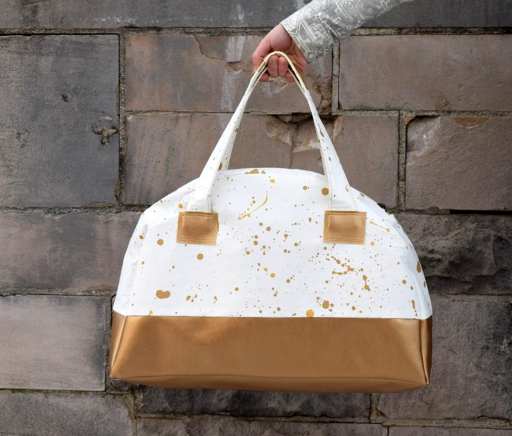 Weekender Duffle Bag Tutorial & Free Pattern