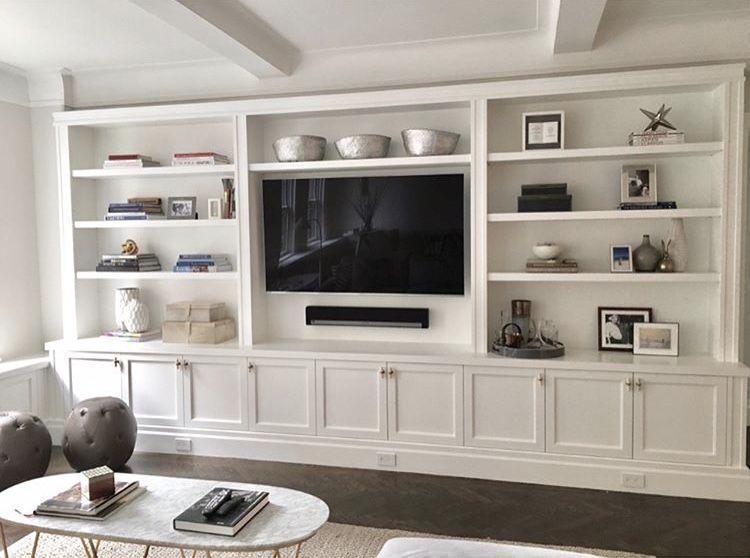 Built In Media Center Goals Living Room Entertainment Living