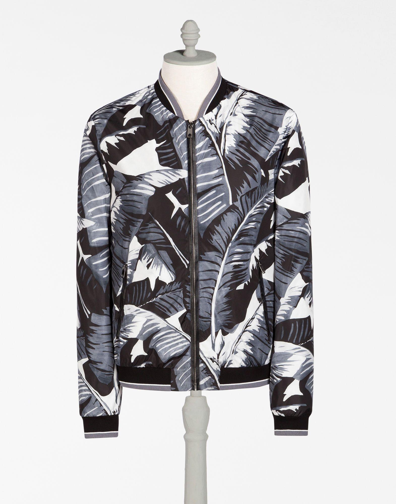 7da9c3acb DOLCE & GABBANA Bomber Jacket In Printed Nylon. #dolcegabbana #cloth ...