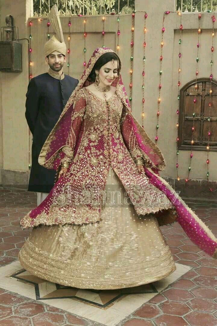 12b2bbbf45b0 Color contrast Pakistan Bride, Pakistan Wedding, Asian Wedding Dress  Pakistani, Wedding Wear,