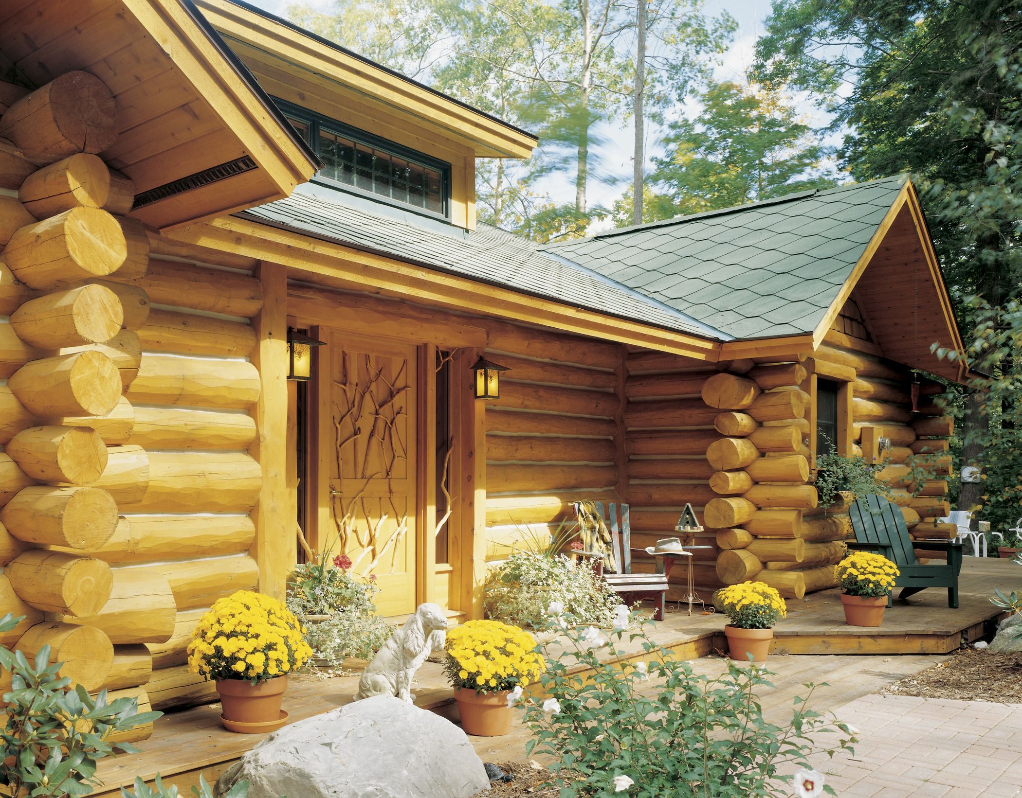 Pin On Hybrid Log Homes 1 2 Log Siding