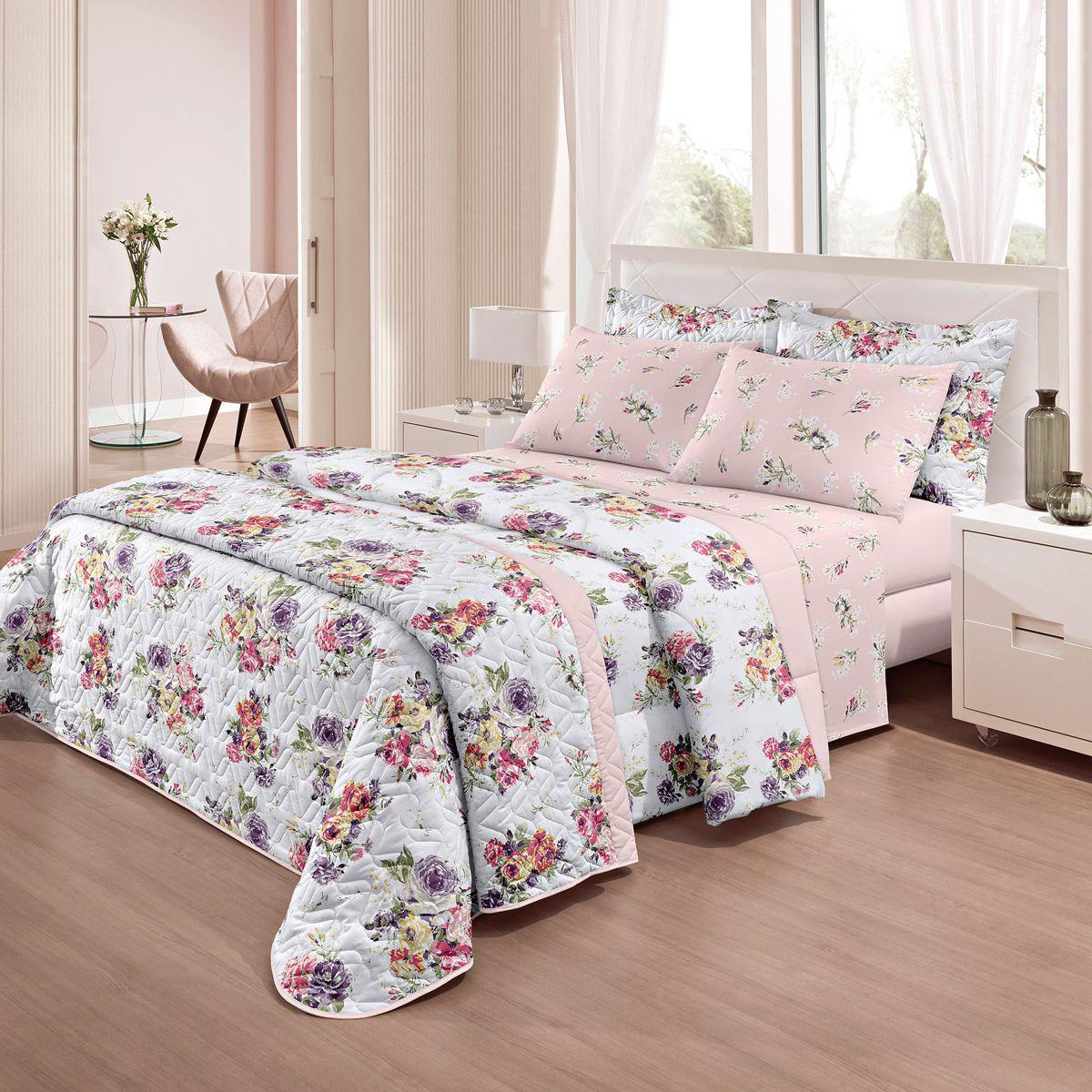 605ddf4975 Jogo de cama casal e solteiro - Santista