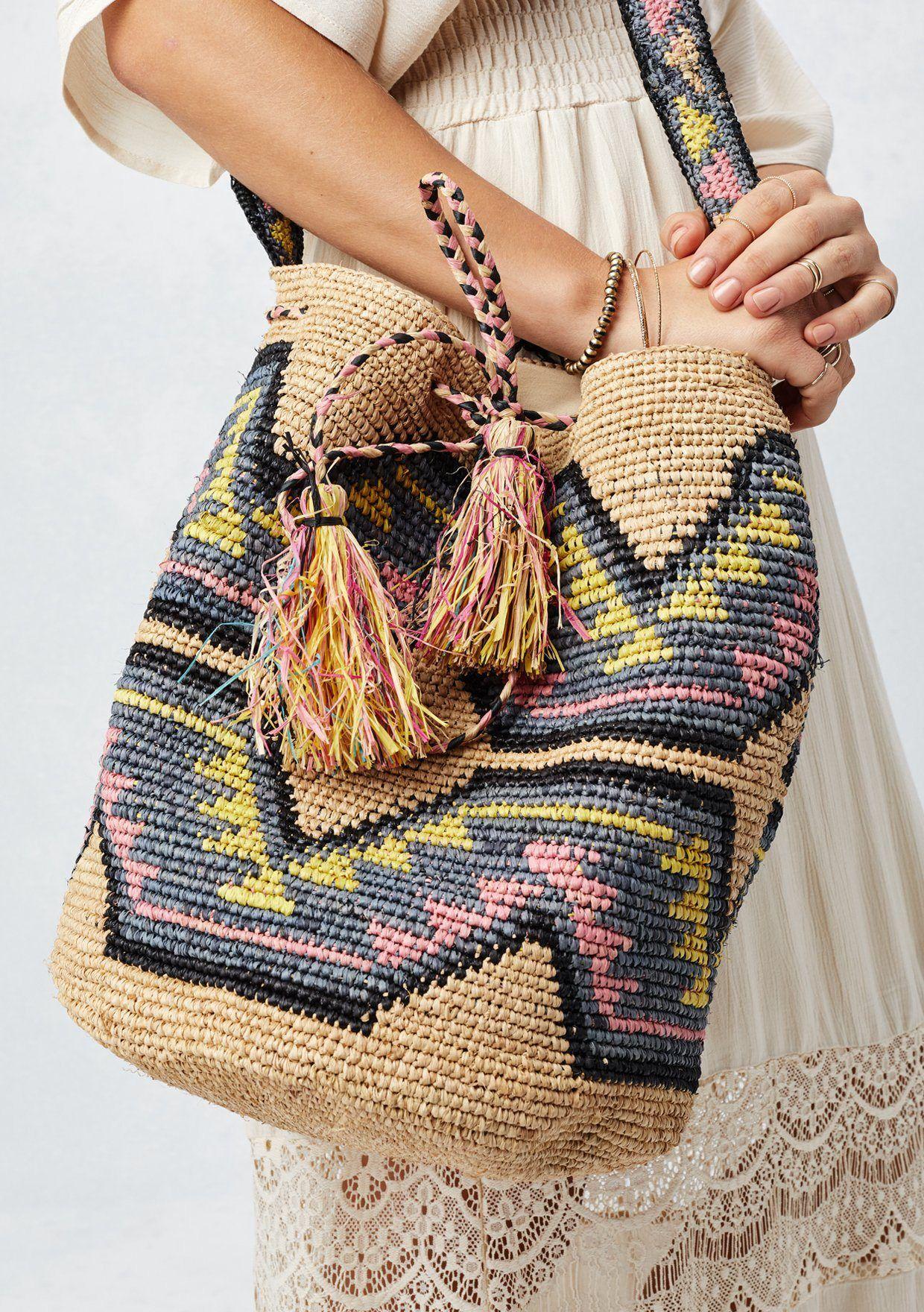 Crochet Tote Bag Shoulder Bag Festival Bag  Boho Bag Women Fashion Accessories Gift Ideas