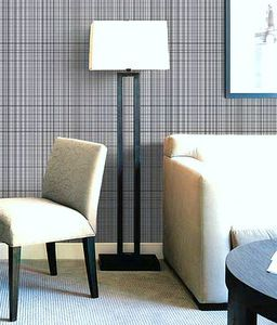 Fabric Wall Coverings Can Make The Room Fun And Can Also Help Emphasize The  Furniture. In This Picture, The Pattern Of The Wall Fabric Makes The White  ...