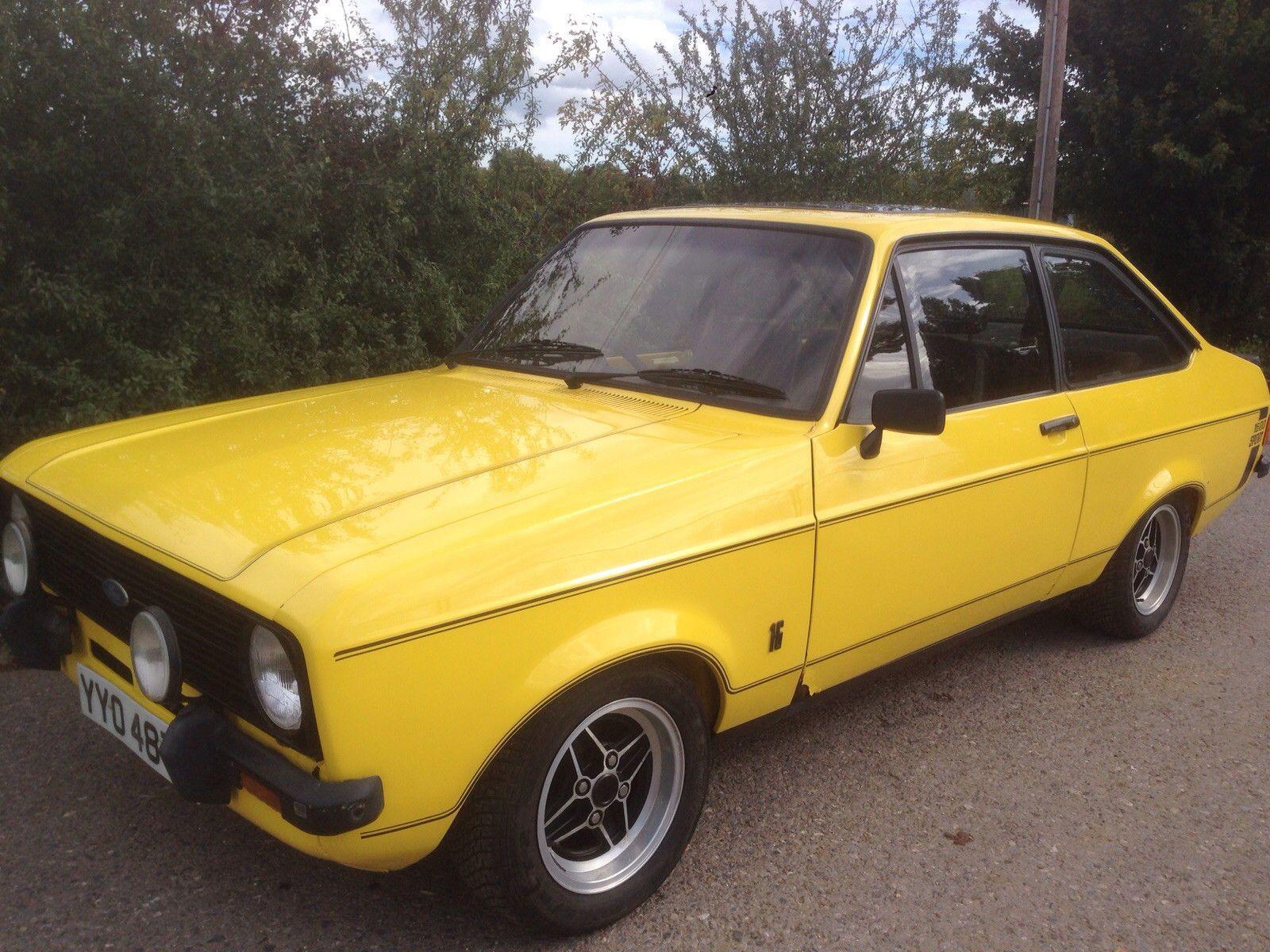 ford escort mk2 1600 sport restoration project 1979 uk car   Fast ...